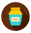jam circle icon vector image vector image