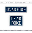 Military signboard us air force