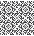 Seamless pattern of intersecting zigzag shapes vector image