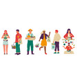 vegan lifestyle people with organic food and vector image vector image