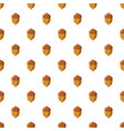 acorn pattern vector image vector image