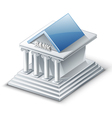 bank building vector image