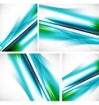 blue line backgrounds vector image vector image