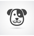 Cute dog icon element for design vector image vector image