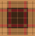 pink tartan plaid seamless pattern vector image vector image