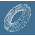 Torus Connection Structure 3D vector image vector image