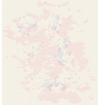 Vintage paper texture with watercolor blots vector image vector image