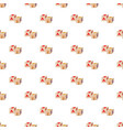 baby cubes pattern vector image