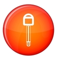 Car key icon flat style vector image vector image