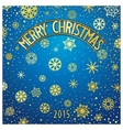 Christmas festive lettering vector image vector image