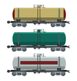 Cistern car vector image