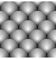Design seamless monochrome circle pattern vector image vector image