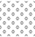 eye palm pattern seamless vector image vector image