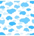 New clouds seamless pattern vector image