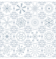 pattern christmas vector image vector image