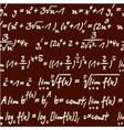 science mathematics pattern vector image vector image