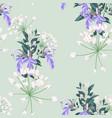 silver colorful succulent echeveria pattern vector image vector image