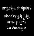 argotyl alphabet typography