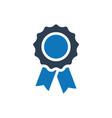award ribbon icon vector image vector image
