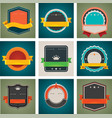 badges set vector image vector image