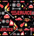 design machine parts service vector image vector image