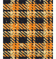 grunge tartan fabric plaid wallpaper vector image vector image