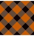 Halloween Tartan Seamless Pattern vector image vector image