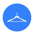Hanger icon of for web and vector image vector image
