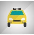 taxi icon design vector image vector image