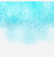 aqua coloured watercolour texture vector image vector image