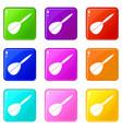 arrow to play dart set 9 vector image vector image