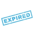 Expiblue Rubber Stamp vector image vector image