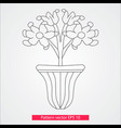 ornament and decor design elements decoration of vector image vector image