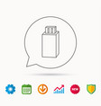 usb drive icon flash stick sign vector image vector image