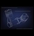 3d model of piston