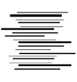black stripes are thin and thick creating movement vector image