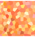 bright red and orange pattern vector image vector image