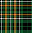 green tartan celtic fc seamless pattern fabric vector image vector image