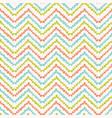 pretty geometric chevron pattern seamless vector image vector image