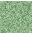 Seamless ornamental pattern with stylized with vector image vector image