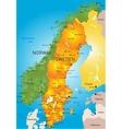 Sweden vector image vector image