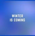 square blurred winter background in dark blue vector image