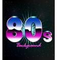 80s Retro Background