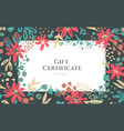 background flowers composition vector image vector image