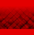geometric elements red color with dots abstract vector image vector image
