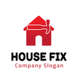 House Fix Design vector image