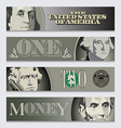 Money Banners vector image vector image