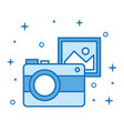 photo camera picture device internet technology vector image vector image