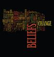 power beliefs text background word cloud vector image vector image