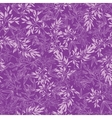 purple branches seamless pattern background vector image vector image